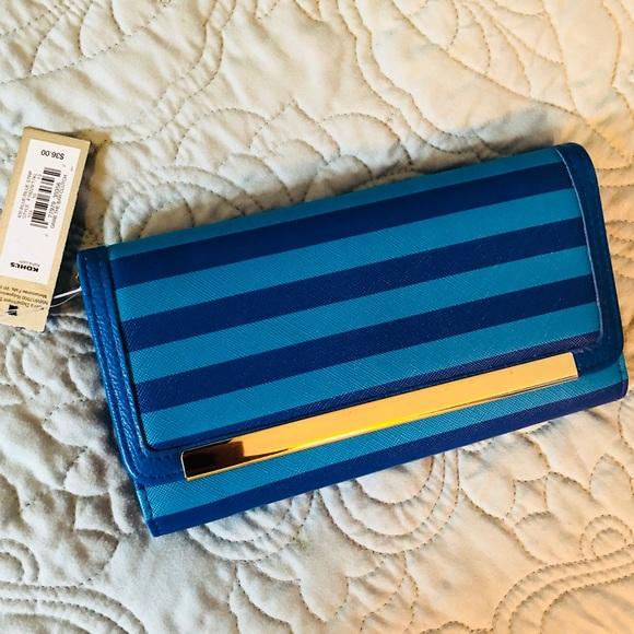 Apt. 9 Handbags - NWT - Apt 9 Grab The Bar Clutch
